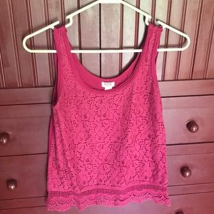 Target (mossimo brand) Maroon Small tank top